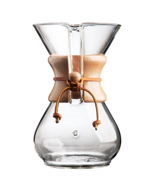 Método de preparo de café especial chemex