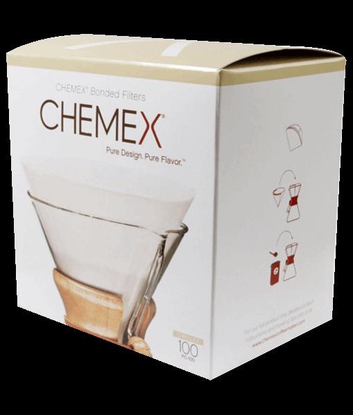 Caixa com filtros para chemex