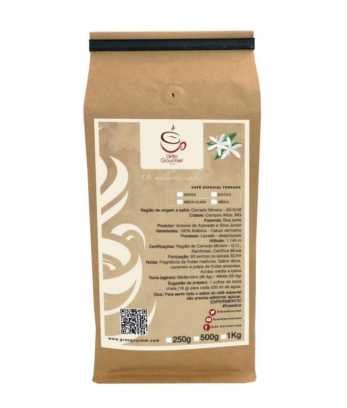 Pacote de Café Especial Torrado