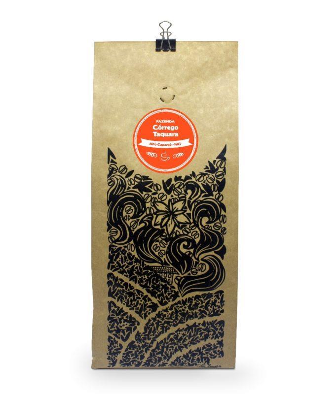 Embalagem Café Gourmet Fazenda Córrego Taquara