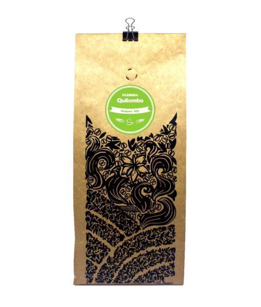 Imagem da embalagem do café fazenda quilombo