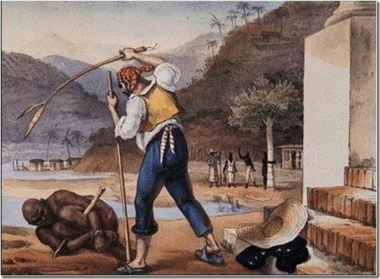 Feitores castigando negros (1834)