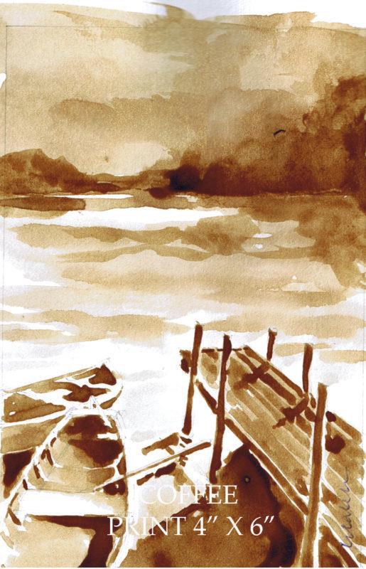 pintura com café Caleb 3