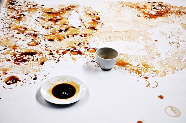 pintura café 4 Hong Yi