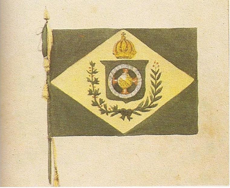 bandeira e pavilhão brasileiros