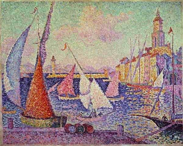 Signac Porto de Saint-Tropez 1899