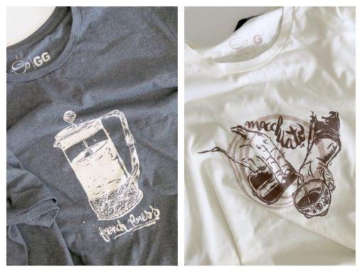 Camisetas cafeinadas