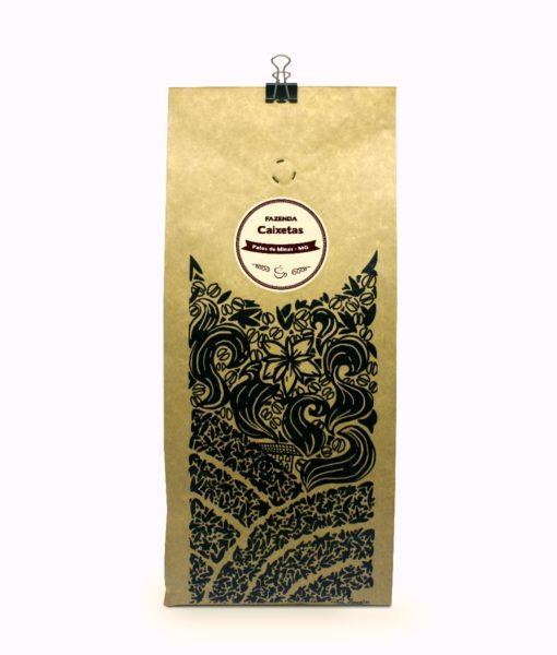 Embalagem café fazenda caixetas