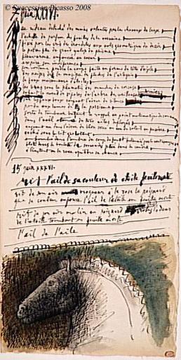 Poema Picasso imagem