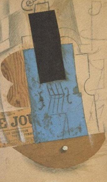 Violino e Jornal (1912)