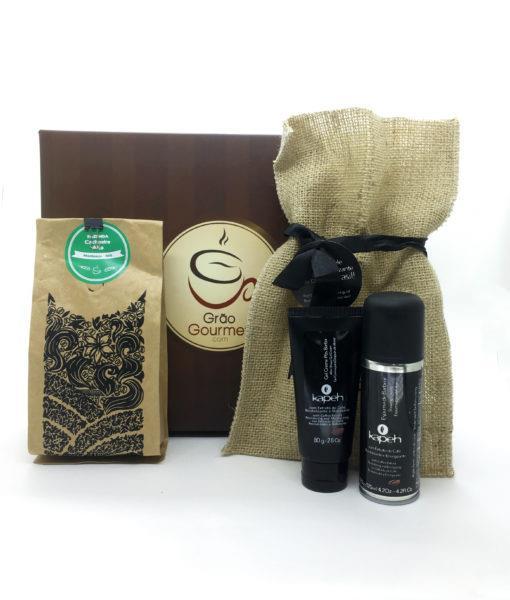kit café + produtos kapeh