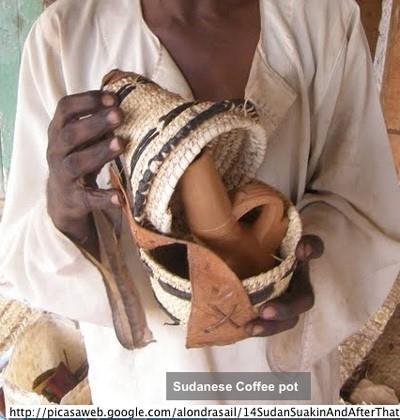 Potes usados para preparar café Beja