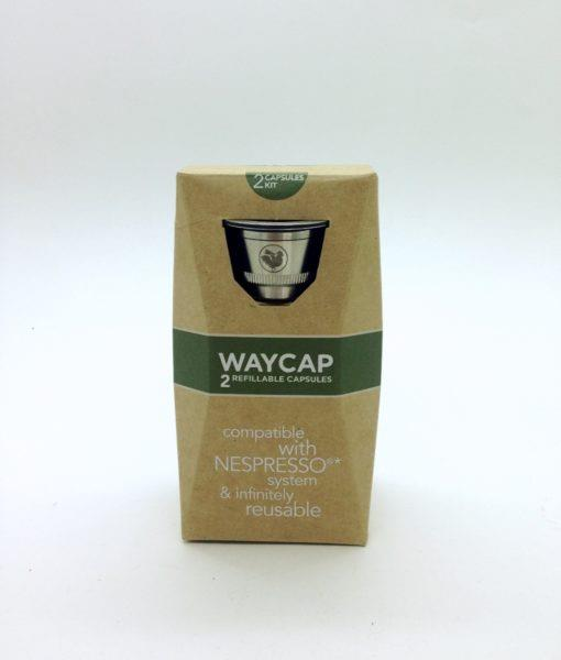 Waycap cápsula inox nespresso 2 unidades