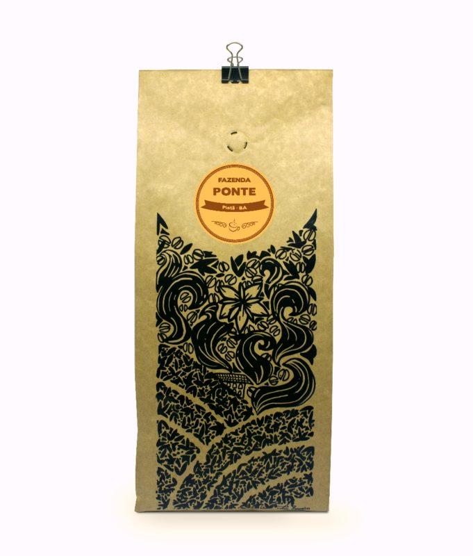 Embalagem café fazenda Ponte