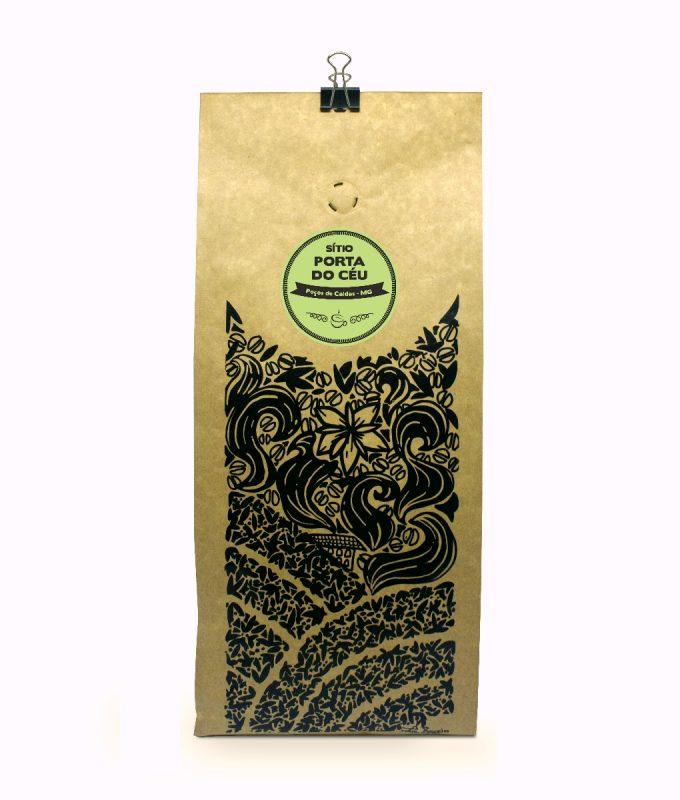 Café Sítio Porta do Céu embalagem